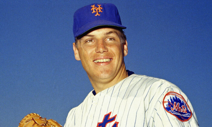 New York Mets pitcher Tom Seaver poses for a photo in unknown location on March 1968. (AP Photo, File)