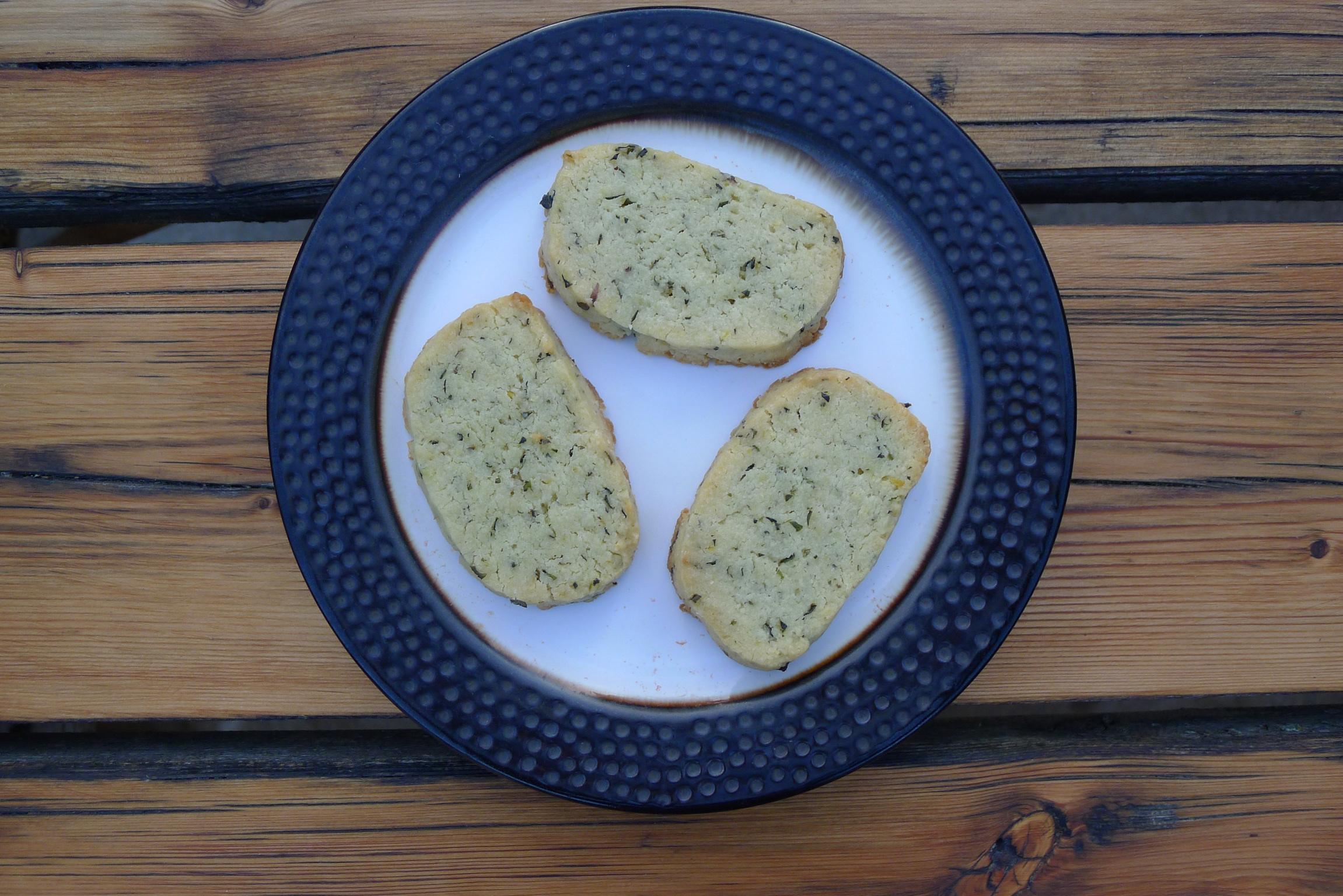 herb cookies