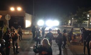 3 Arrested After Crowd Throws Rocks at Police in Portland