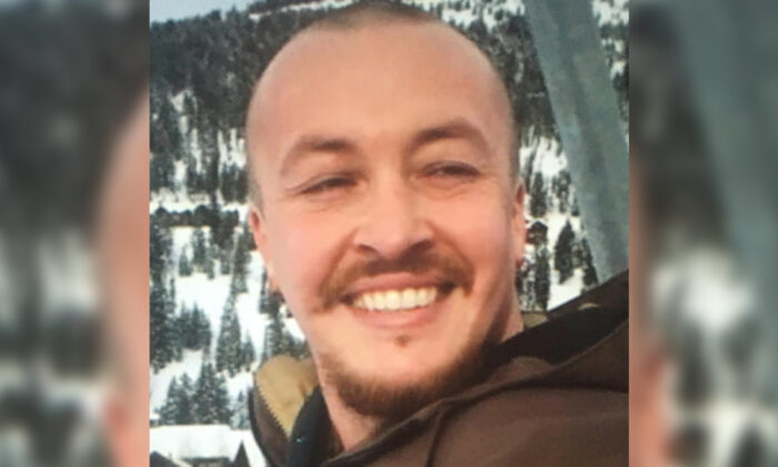 "Aaron ""Jay"" Danielson in an undated photograph. He was shot dead in Portland, Ore., on Aug. 29, 2020. (Danielson family via AP)"