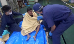 Japanese Coastguard Finds Second Survivor From Capsized Cattle Ship