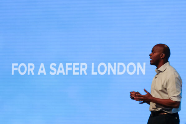 Shaun Bailey, Conservative candidate for the Mayor of London