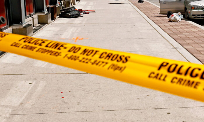 Police tape in Toronto, Canada in a file photo. (Chip Somodevilla/Getty Images)
