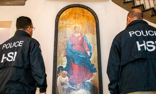 ICE Agents Recover 19th-Century Painting Stolen From Ancient Italian Monastery