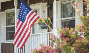 Woman, 73, Breaks American Flag Pole Fighting Off Intruder–So Police Buy Her a New One