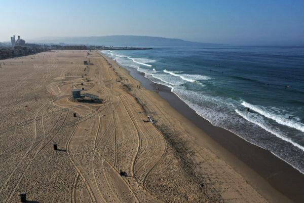 Hermosa Beach, near Los Angeles, California
