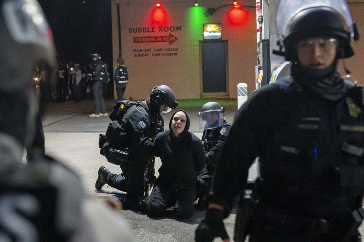 27 Arrested in Portland as Rioters Target Police Union Building