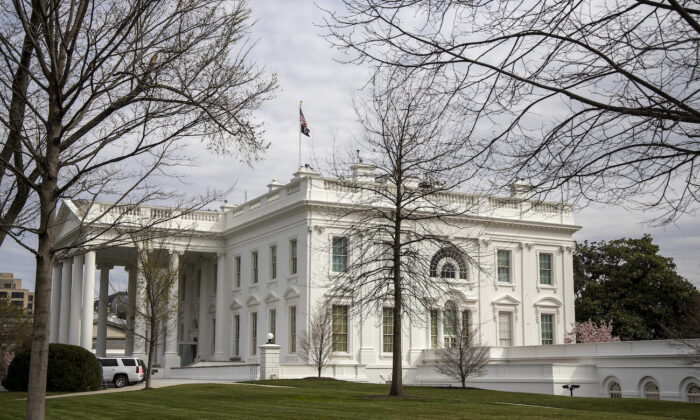 The White House in Washington, on March 14, 2020. (Tasos Katopodis/Getty Images)