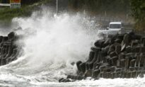 Typhoon Haishen Unleashes Rain, Strong Winds in Southern Japan