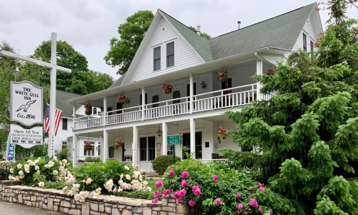 The White Gull Inn provides a quiet place to stay when visiting Fish Creek in Wisconsin's Door County. (Courtesy of Brian Clark)