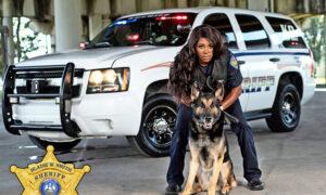 St Mary Parish Sheriff Office's First Female K9 Handler Meets New German Shepherd Partner Jace