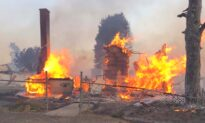 80 Percent of Buildings in Eastern Washington Town Destroyed During Firestorm
