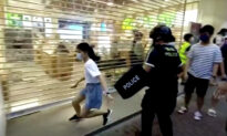 Hong Kong in Shock After Police Tackle a 12-Year-Old Girl