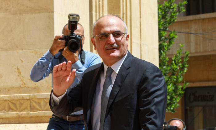 Finance Minister Ali Hassan Khalil arriving at the parliament in the Lebanese capital Beirut, on May 23, 2018. (Anwar Amro/AFP via Getty Images)