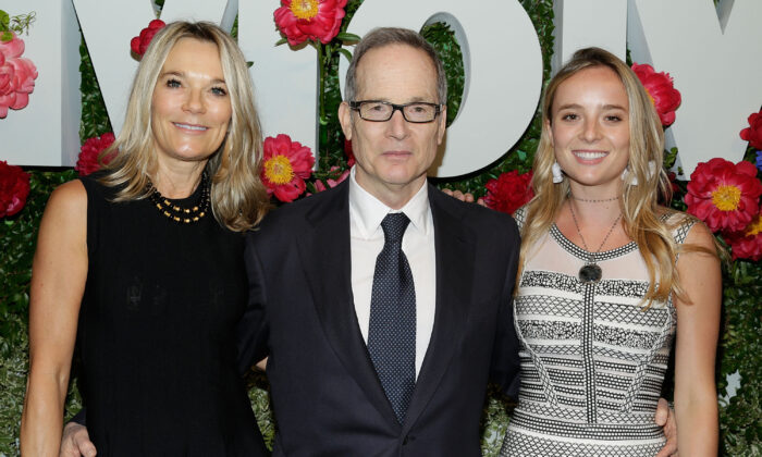 Eva Dubin, Glenn Dubin, and Selina Dubin attend The Museum of Modern Art's Party in the Garden at MOMA in New York City in a 2017 file photograph. (Lars Niki/Getty Images for The Museum of Modern Art)