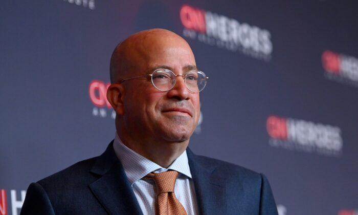 Jeff Zucker, president of CNN, in New York City on Dec. 8, 2019. (Mike Coppola/Getty Images for WarnerMedia)