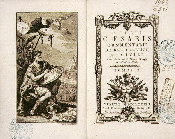 ulius Caesar's Commentarii de Bello Gallico