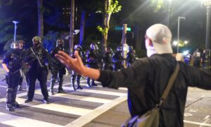 Hamstrung by New Law, Portland Police Make No Arrests in Latest Riot