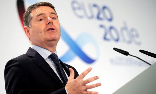 Eurogroup President Paschal Donohoe