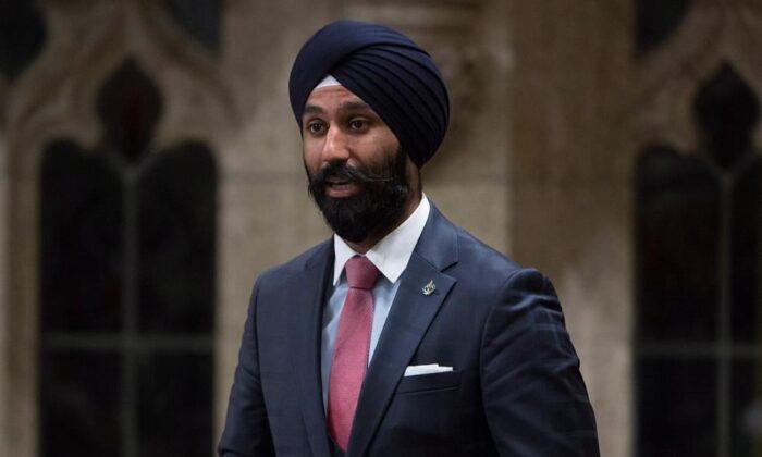 Once Liberal MP Raj Grewal (The Canadian Press)