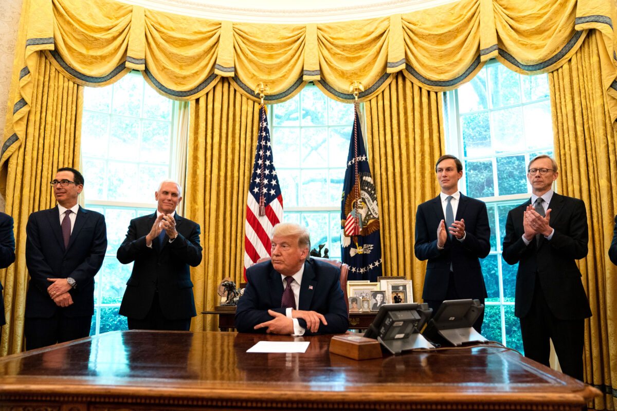 President Trump Announces Bahrain Will Establish Diplomatic Relations With Israel