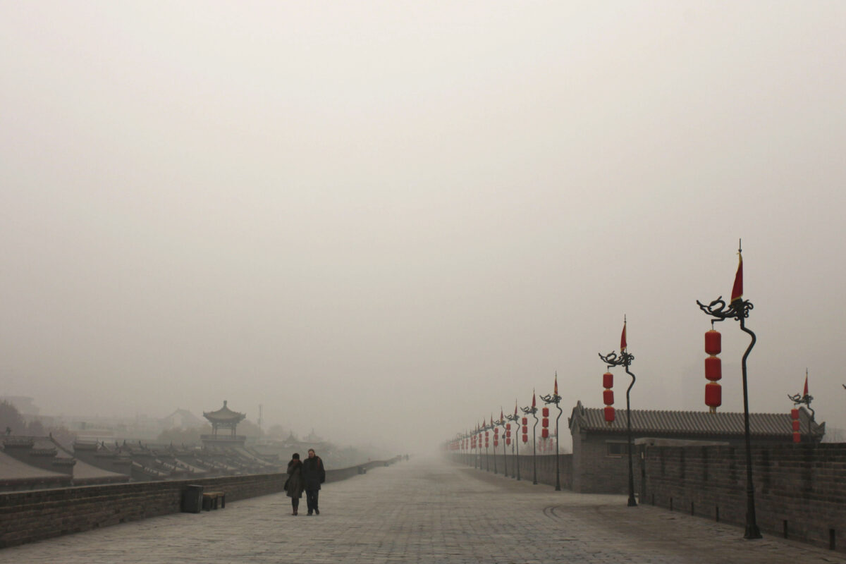 China's Xi'an Shrouded In Smog