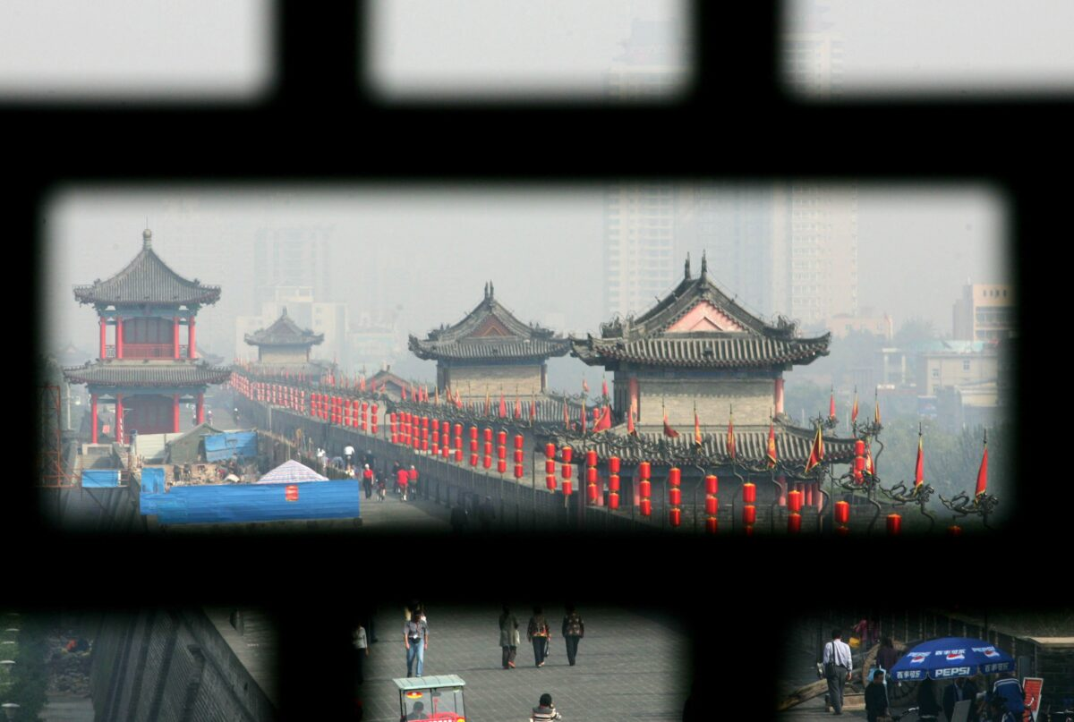Xian Ming Dynasty City Wall Opens To Public After Renovation