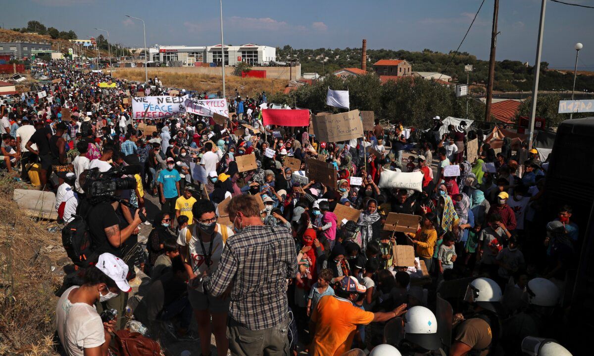 Lesbos Greece Migrant Crisis