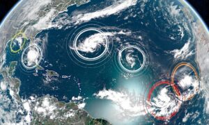 Tropical Storm Sally Forms in the Gulf of Mexico