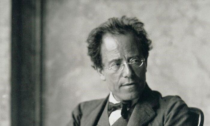 Gustav Mahler in 1907. (Public Domain)