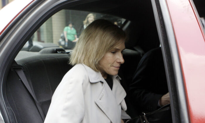 Then-acting U.S. Attorney Nora Dannehy leaves law offices in Washington in a May 15, 2009, file photograph. (Haraz N. Ghanbari/AP Photo)