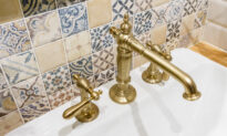 How to Make Old Tarnished Brass Bathroom Fixtures Look Like New