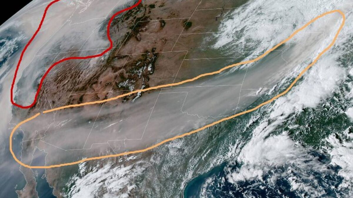 West Coast Wildfire Smoke Makes It to Michigan: NOAA