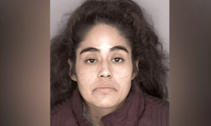Anita Esquivel in a booking photo. (Monterey County Sheriff's Office)