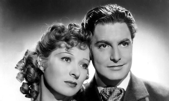 """Promotional photograph of Greer Garson and Robert Donat for """"Goodbye, Mr. Chips."""" (Public Domain)"""