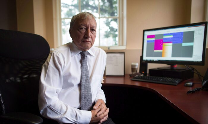 Dr. Brian Day, medical director of the Cambie Surgery Centre, at his office in Vancouver in a file photo. (The Canadian Press/Darryl Dyck)