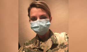 Louisiana Army Reserves Nurse Deployed for First Time Ever to Fight COVID-19 in Texas