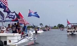 Louisiana Supporters Rally for Trump on the Water