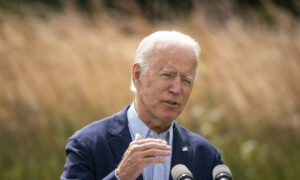 Biden Blames Climate Change for Wildfires, Calls for Action