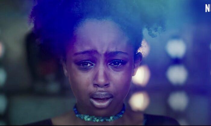 """Screenshot from """"Cuties"""" trailer. (screenshot/Netflix)"""