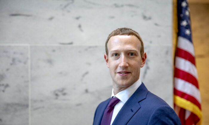 Facebook founder and CEO Mark Zuckerberg on Capitol Hill on Sept. 19, 2019. (Samuel Corum/Getty Images)