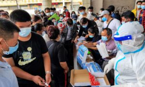 Southern China City Back in Lockdown Over CCP Virus Outbreak