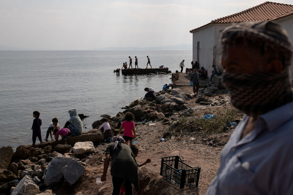 Greek Police Arrest Five Over Lesbos Fire, Migrants...