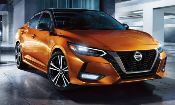 2020 Nissan Sentra. (Courtesy of Nissan)