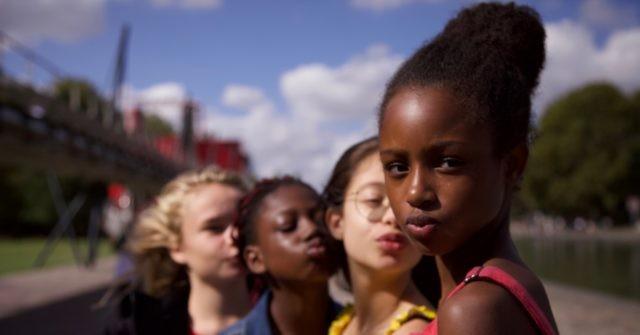 "Frame from the ""Cuties"" trailer. (Netflix)"