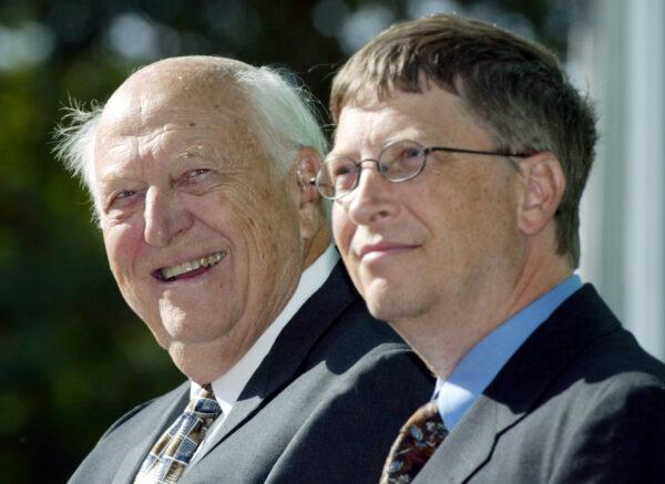 Bill Gates Sr. and Bill Gates