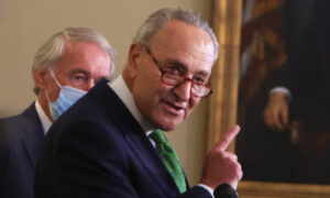 Schumer Threatens to End Filibuster and Make DC and Puerto Rico States