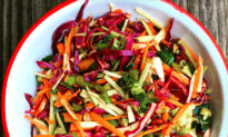 A Cool, Crunchy, Clean-Out-the-Fridge Coleslaw