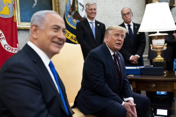 President Trump Holds Bilateral Meetings With Middle Eastern Abraham Accords Countries