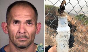 Man Arrested After Allegedly Starting at Least 7 Brush Fires Along Oregon Highway